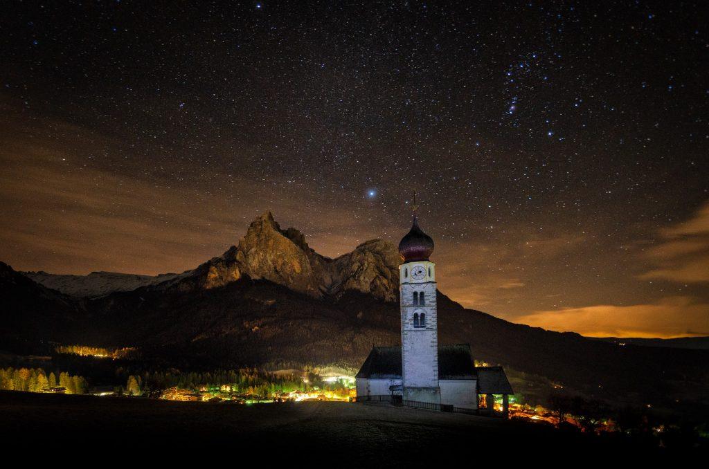 Alpe di Siusi by night - Foto di Giulia Cimarosti