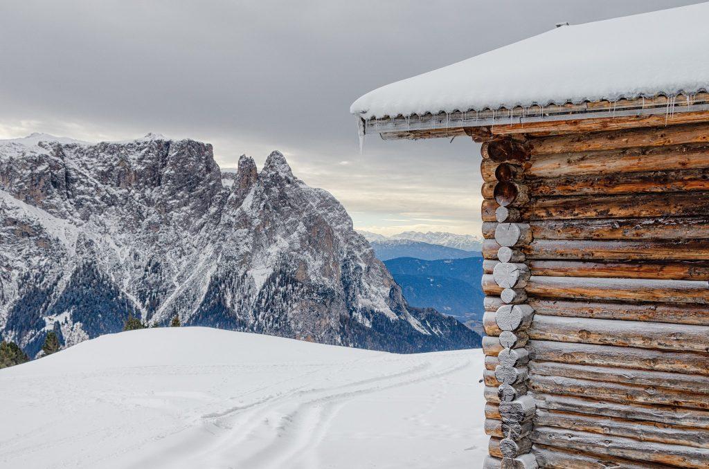 Ghiaccio sull'Alpe di Siusi - Foto di Giulia Cimarosti