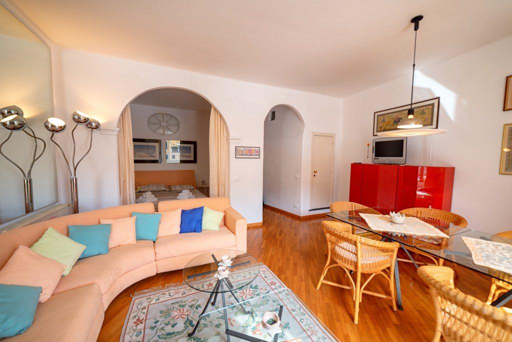 Fotografia d'interni: Salotto a Portofino