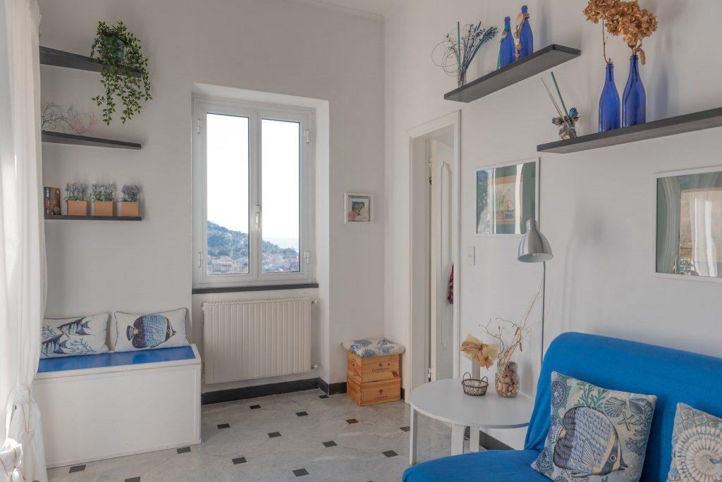 Fotografia d'interni: Salotto a Rapallo