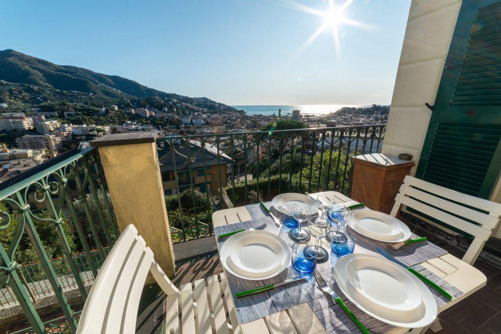 Fotografia d'interni: Terrazza a Rapallo