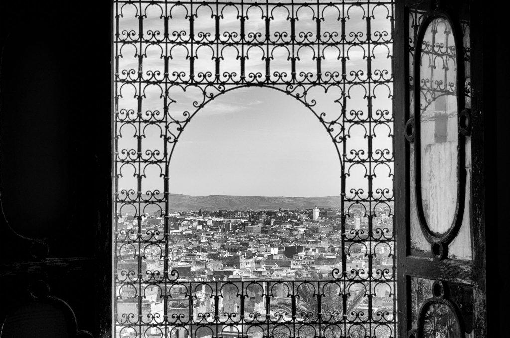 Fez, Marocco: Panorama da Finestra