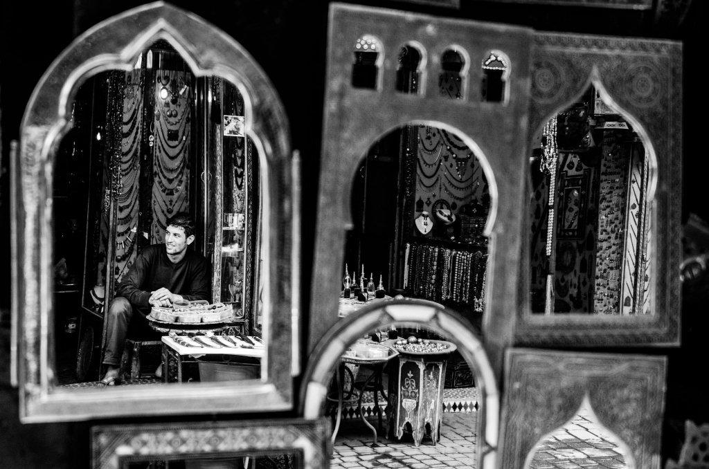 Souk di Marrakesh: Specchi