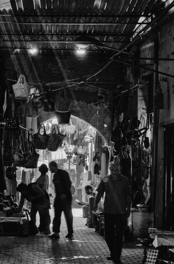 Souk di Marrakesh, Marocco