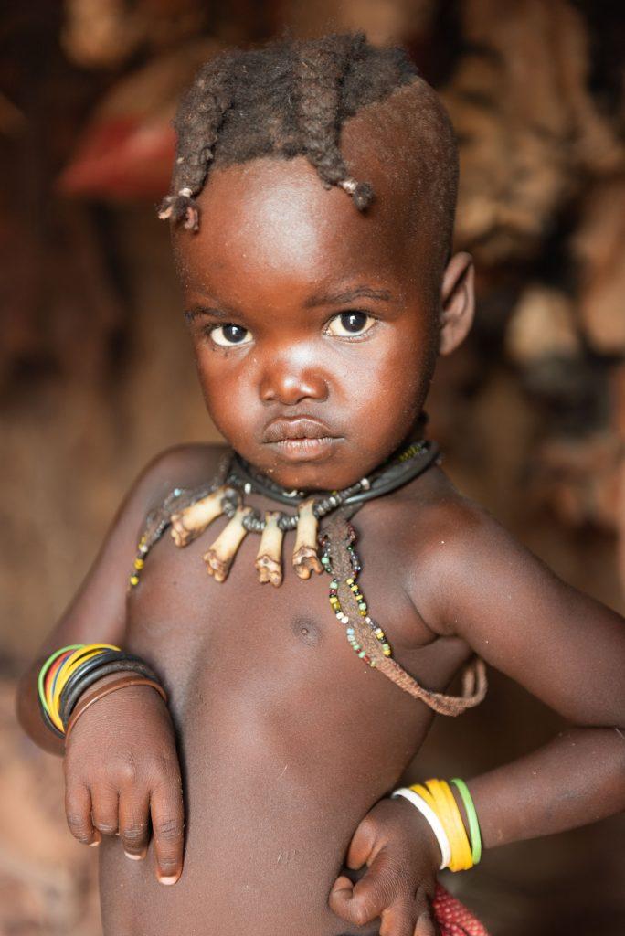 Bambina Himba, Namibia
