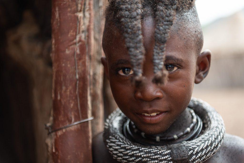 Ritratto di Bambina Himba