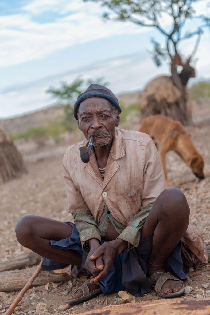 Anziano Himba