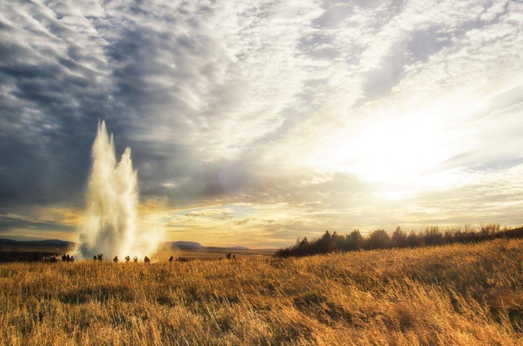 Strokkur, Geysir, Islanda (Circolo d'Oro)