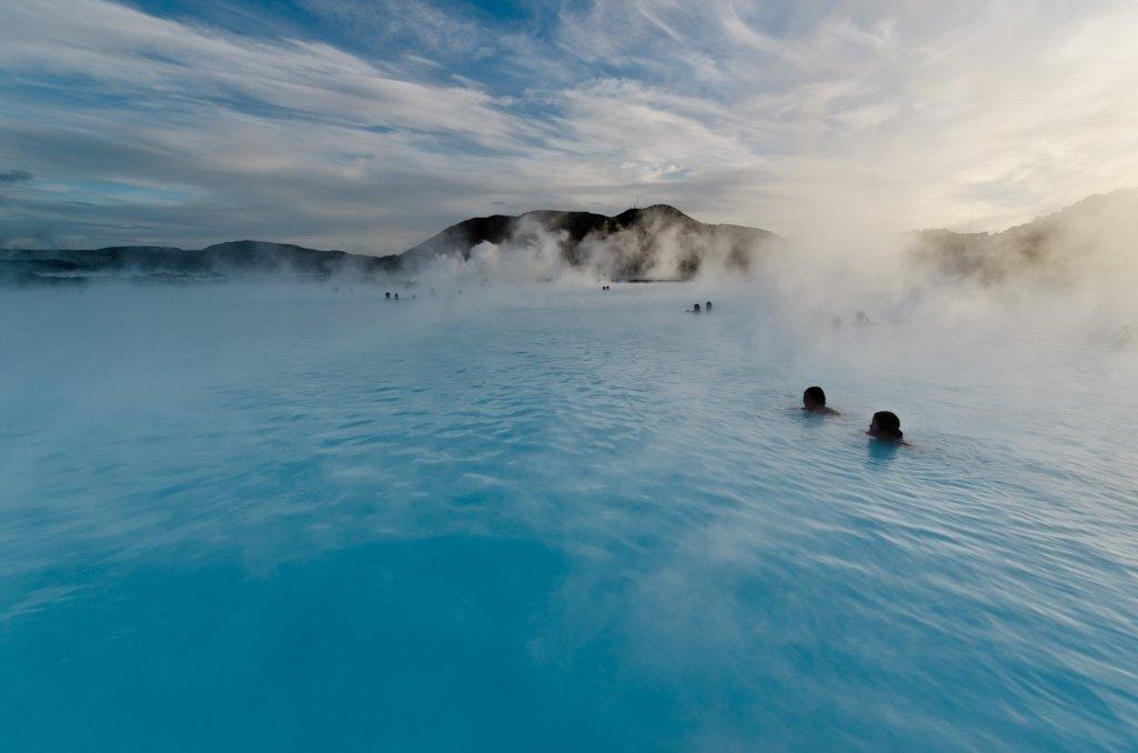 Islanda: La Blue Lagoon d'Inverno