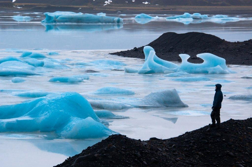 Iceberg di Fjallsarlon, Islanda