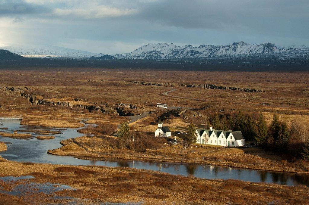 Thingvellir, Islanda