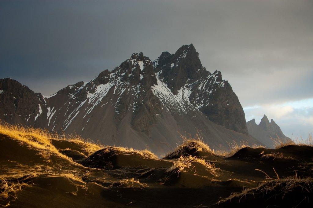 Vestrahorn, Islanda, Sabbia Nera