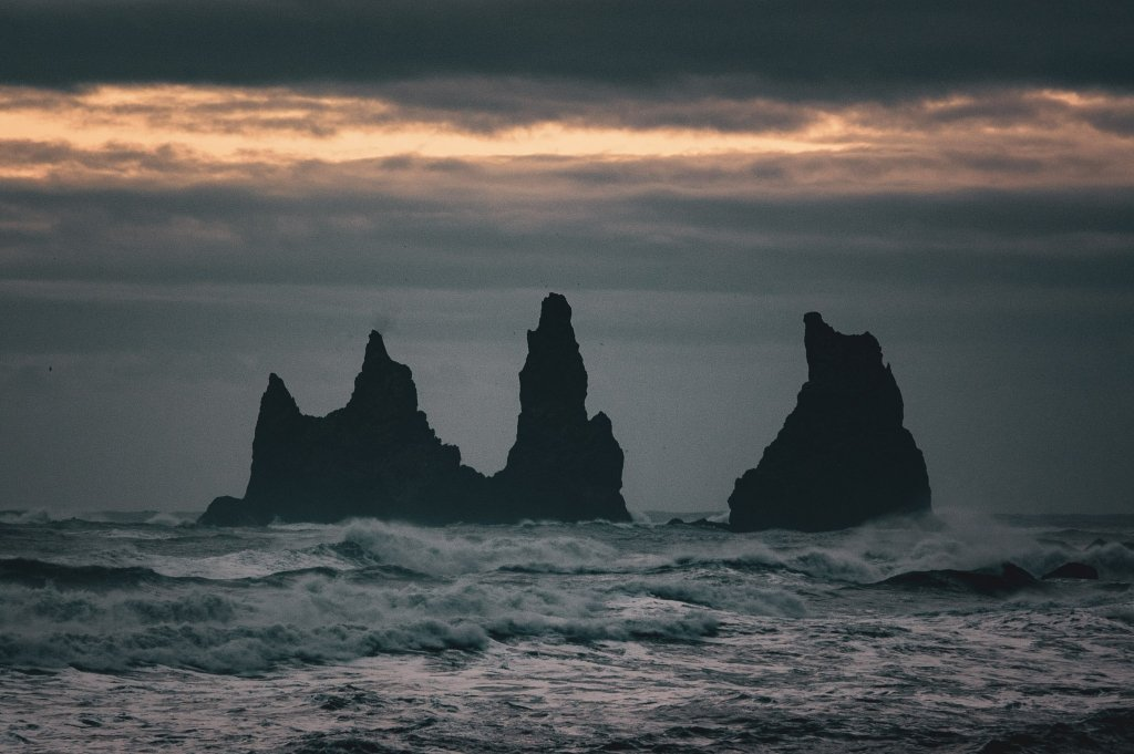 Vik e i suoi faraglioni, Islanda
