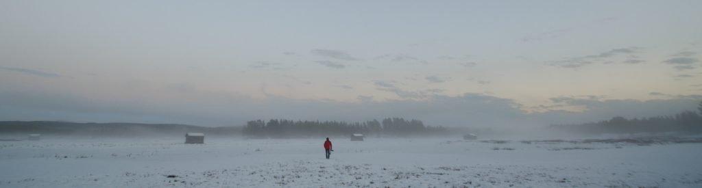 Inverno in Lapponia Svedese
