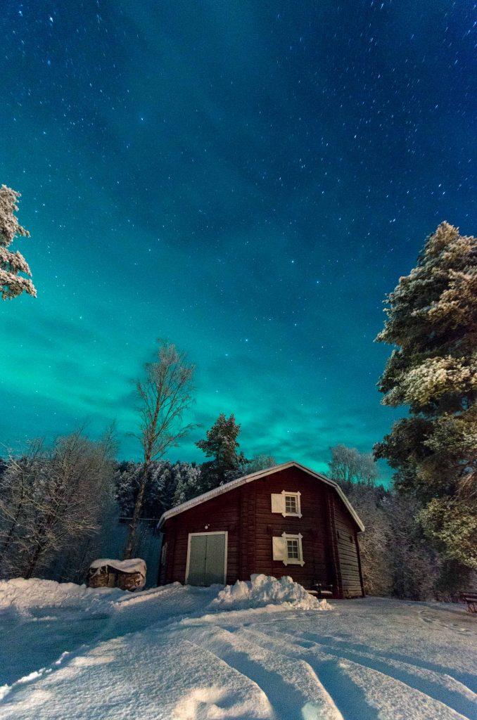 Aurora Boreale in Lapponia Svedese
