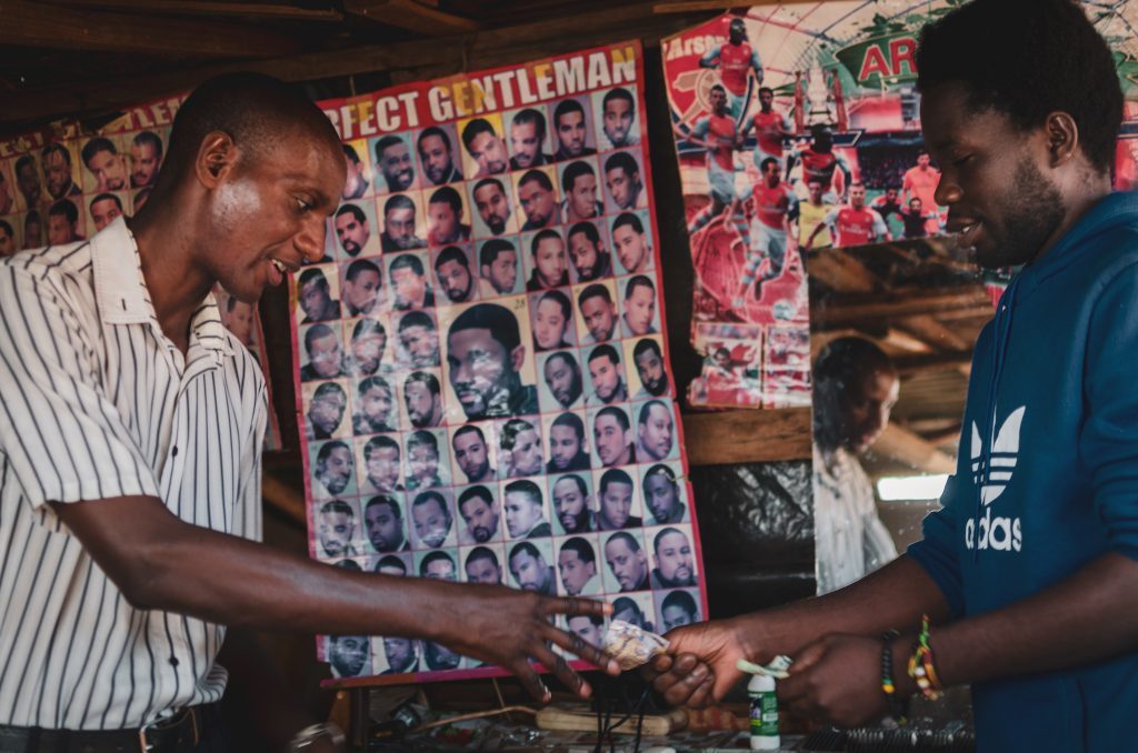 Photo Series about Barber Shop - Livingstone, Zambia - by Giulia Cimarosti