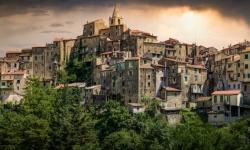 Ceriana - Foto Panoramica - Tramonto