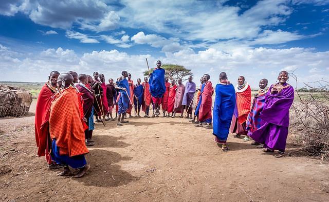 Masaai, Tanzania