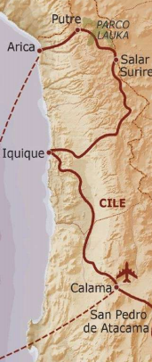 Itinerario Viaggio Cile